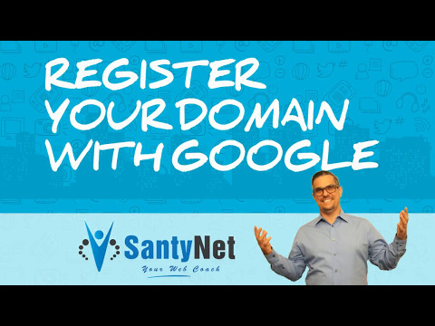 Register Your Domain With Google
