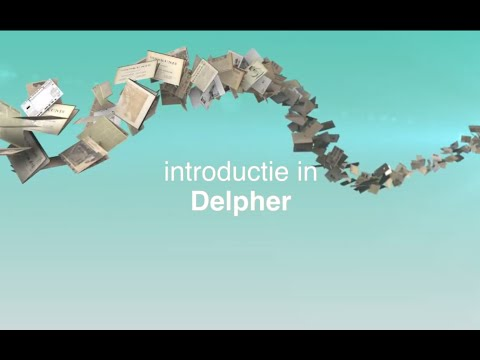 watch Introductie in Delpher