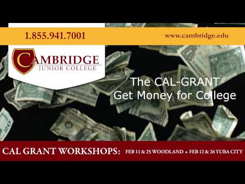 Cal Grant Free Money for College