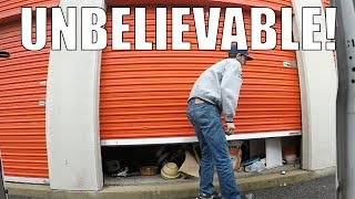 I bought a Storage Auction Locker ... Here