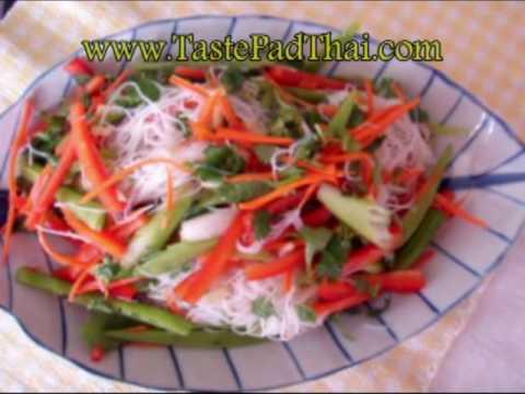 Vermicelli Rice Noodles Salad Recipe