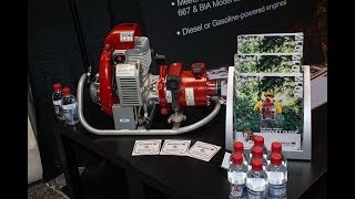 WATERAX BB-4 Diesel High Pressure Fire Pump and MARK-3 Fire Pump at FDIC 2017