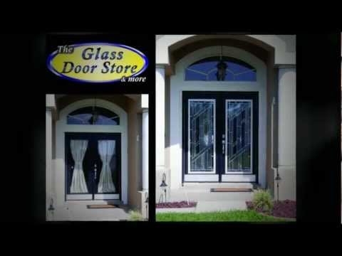 Tampa Homes with glass inserts for Privacy and Style