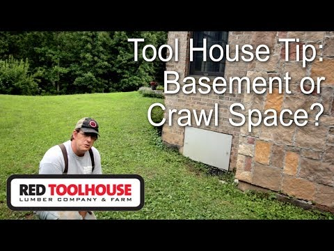 Tips when planning your homestead house build - Should you include a basement?