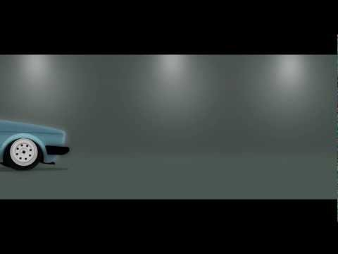 VW caddy vector animation - ohoh.se
