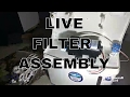 Reverse osmosis filter : Live RO assembly