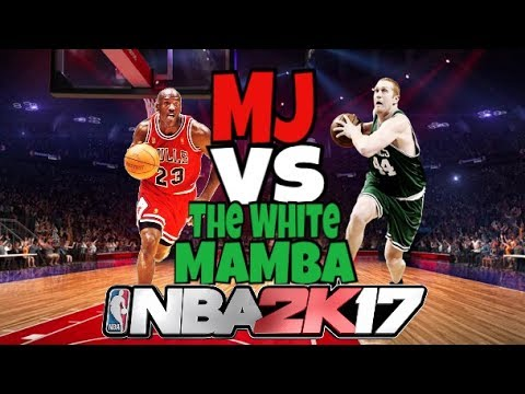 Brian Scalabrine vs Michael Jordan-WHO WOULD WIN?! (NBA 2K17 Blacktop Gameplay)