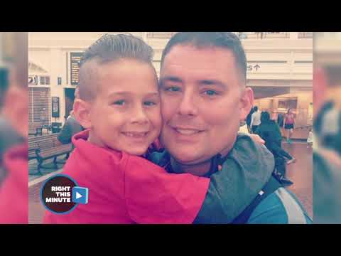 Dad Returns From Deployment And Surprises Son
