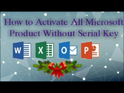 How To Activate Microsoft Office  without product key in Tamil
