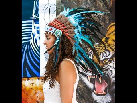 Headresses We Love - Indian Headdress
