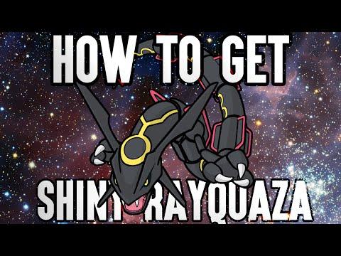 How to Get Shiny Rayquaza!! Shiny Rayquaza Mystery Gift! Pokemon Omega Ruby Alpha Sapphire