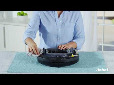 How to Clean the Cliff Sensors | Roomba® 600 Series Robot Vacuums
