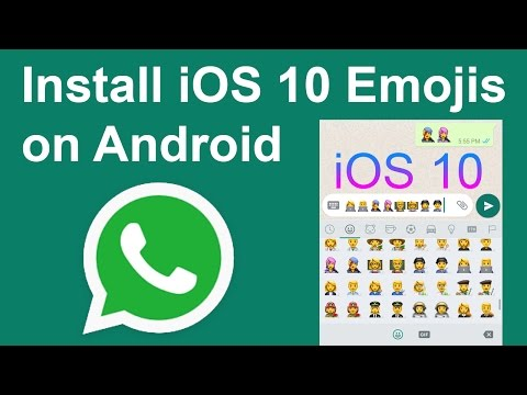 How to Install WhatsApp iOS 10 Emoji Pack on Android | Android Member