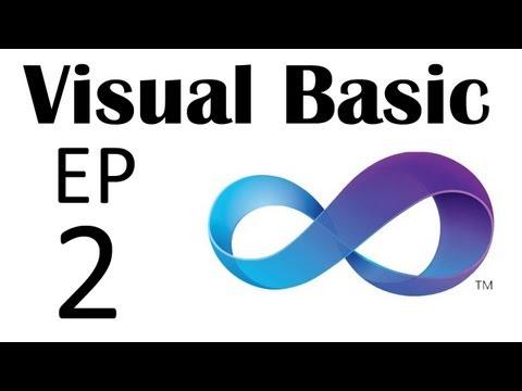 Visual Basic - The Basics - Part 2: Hello World, Basic Coding, Messageboxes, ...