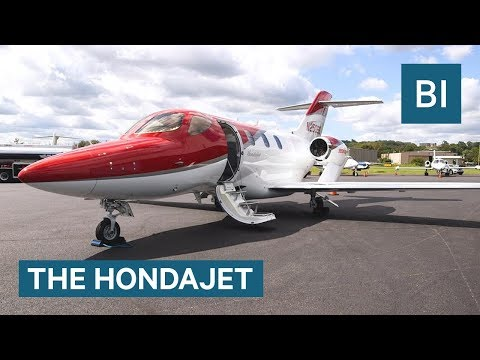 What It's Like To Fly In Honda's New $4.9 Million Private Jet, The HondaJet