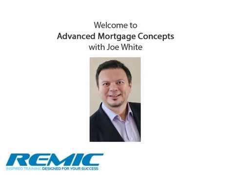 Advanced Mortgage Concepts - Ontario Mortgage Agent Course