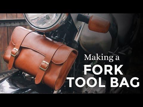 Making a Motorcycle Fork Tool Bag / Side Bag ⧼Week 14/52⧽