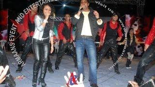 neha kakkar and sandeep acharya together live in haridwar with armaans event