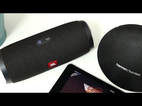 JBL Charge 3 vs Harman Kardon Onyx Mini with Sound Comparison