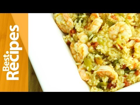Easy Jambalaya with Cajun Shrimp  - Best Recipes with Drew Maresco
