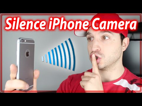 How To Silence iPhone Camera Shutter Sound - iPhone Camera Tips