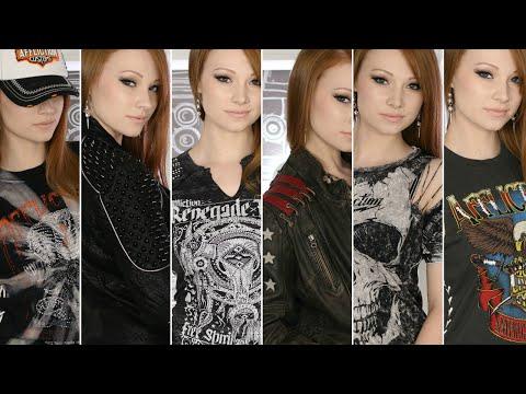 Rocker Clothing Haul ft. Affliction Clothing Brand!