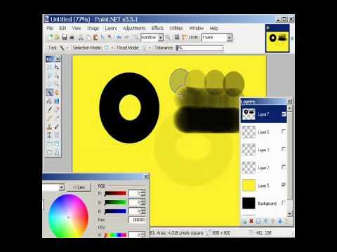 Paint.net PDN sesson 7 lesson 3 layers.wmv