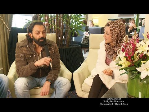 Sutara Arian Interview with Bobby Deol