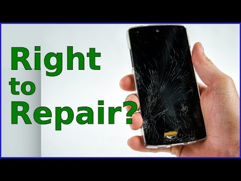 Do You Have the RIGHT to REPAIR YOUR STUFF? (HINT: Kind Of)