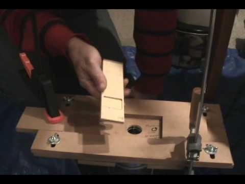 Pinewood Derby weight pocket routing