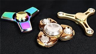 Download BEST METAL FIDGET SPINNERS (SUPER RARE!) Video