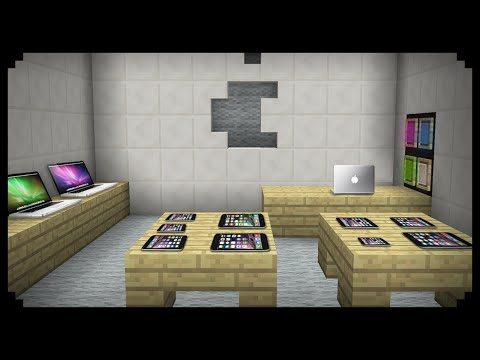 ✔ Minecraft: How to make an Apple Store