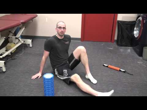 Foam Rollers, Lacrosse Balls and Massage Sticks for the Lower Leg  Muscles