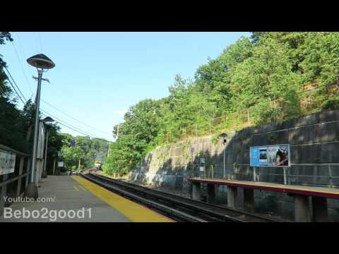 LIRR Port Jefferson Trains at Cold Spring Harbor, NY RR