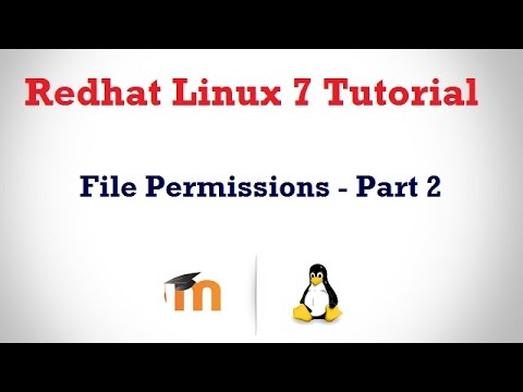 File Permissions in RHEL 7 in HINDI - Part 2 ( Explicitly Defining File Permissions)