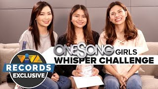"EXCLUSIVE! Whisper Challenge with the ""One Song"" Girls"