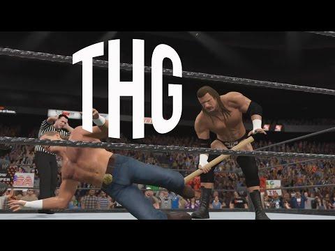 WWE 2k15 Showcase Shawn Michaels vs Triple H - The Hindi Gamer