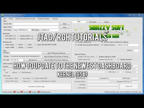 JTAG/RGH Tutorials - How to Update to the Newest Dashboard (Kernel 16547)