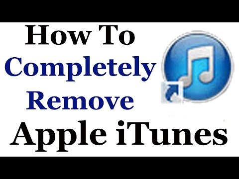 How To Completely Uninstall Apple iTunes From Windows 7 & 8