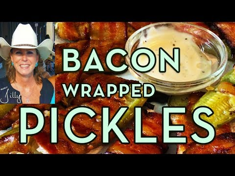 How to Make Bacon Wrapped Pickles ~ Delish!