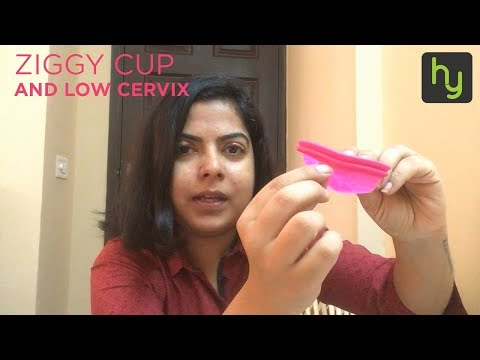 Intimina Ziggy Cup and my low cervix