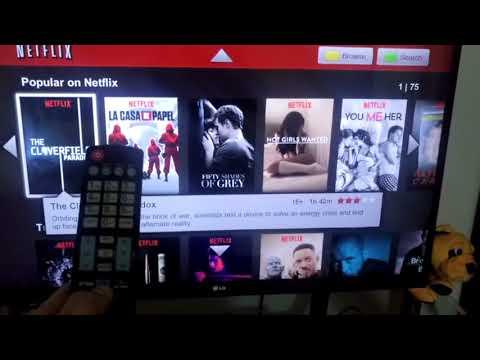 LG Smart Tv Netflix uygulamasından çıkış yapmak. Uygulamalı anlatım...