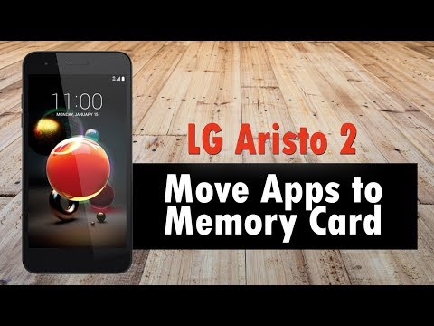 LG Aristo 2 How to Move Apps to the Memory Card