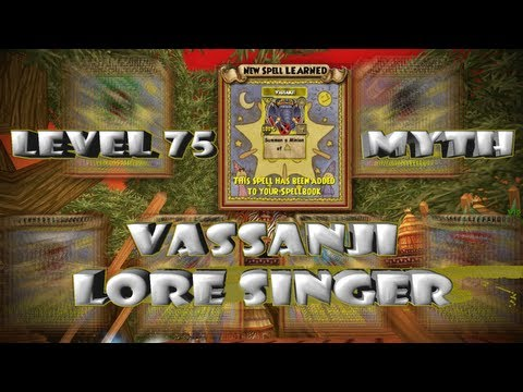 Wizard101 Vassanji Lore Singer: Myth Minion Level 75