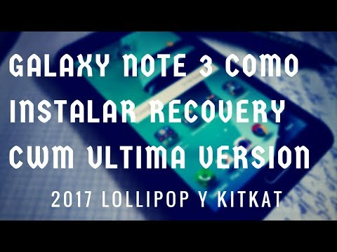 como instalar recovery cwm galaxy note 3 n9005  (N900)