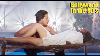 Twinkle Khanna and Karishma Kapoor Milky Thigh Showing Hot Compiled Video   90's Actress Part-2