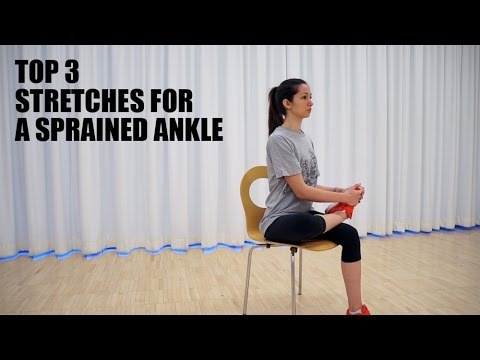 Top 3 Stretches for Sprained Ankle Pain Relief