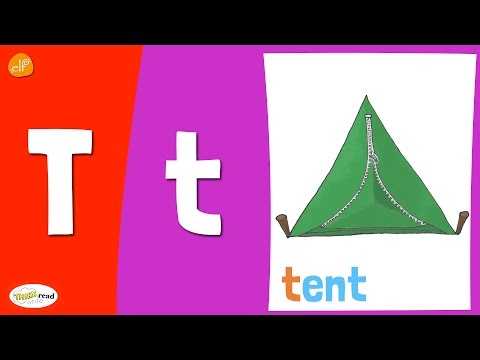 Letter T Practice - Phonics and Vocabulary - Kids Learning & Children's Learning Videos