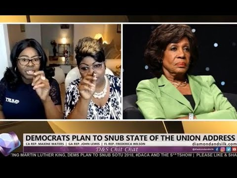 Diamond and Silk go off on Maxine and Lewis for not attending the SOTU