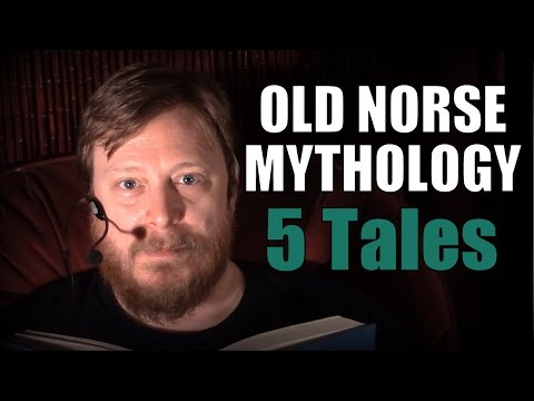 ASMR ★ Norse Viking Mythology Compilation - 5 Bedtime Stories ★ 1 Hour